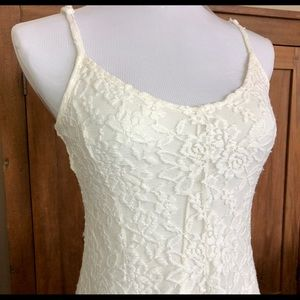 AE Off-White Lace Dress